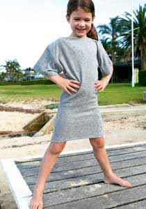 Terry Towelling Cover Up for Girls